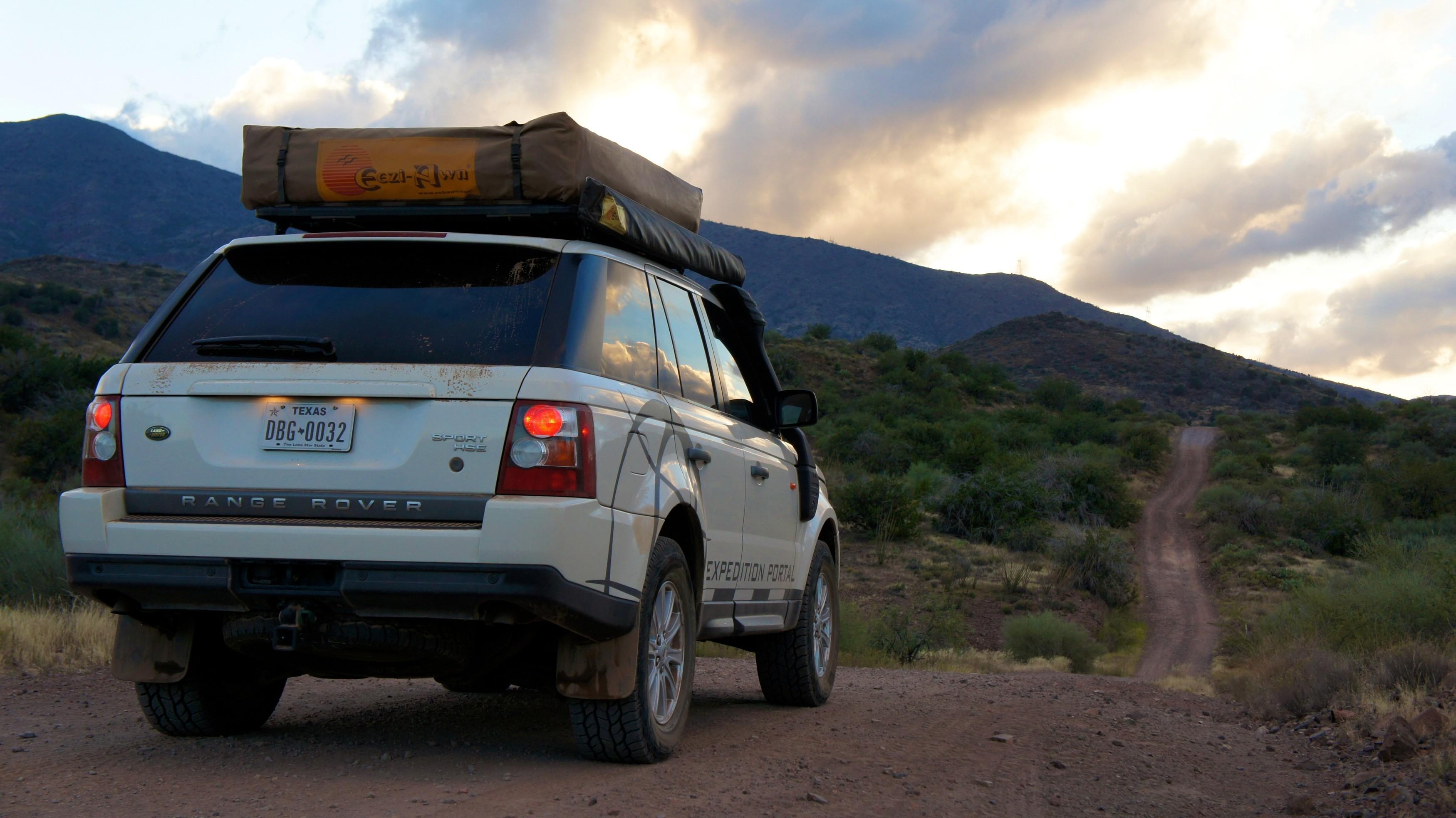 Range Rover Sport Sunset