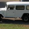 La Aduana: Rare FJ45 Troopcarrier