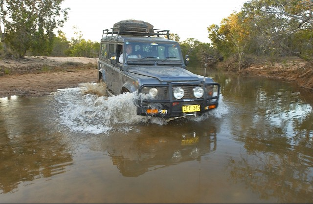 25-Creek Xing on final push to Gulf was tidal. Larry Wells lost his dog to a croc at this crossing point! Pic by M.Ellem