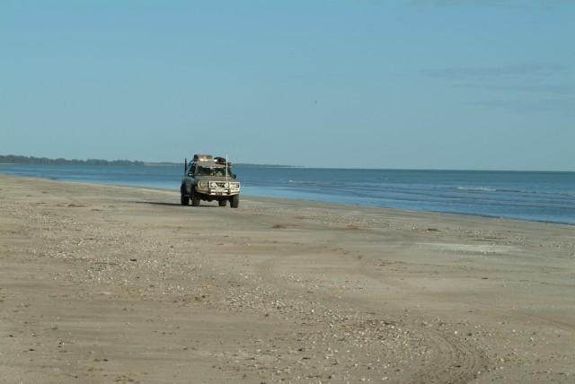32-Remote Gulf beach is near always deserted