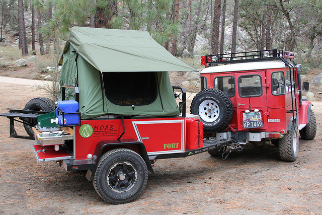 Awesome 08 Fort Bivouac Camping Trailer  Photo 168397187  Ultimate OffRoad