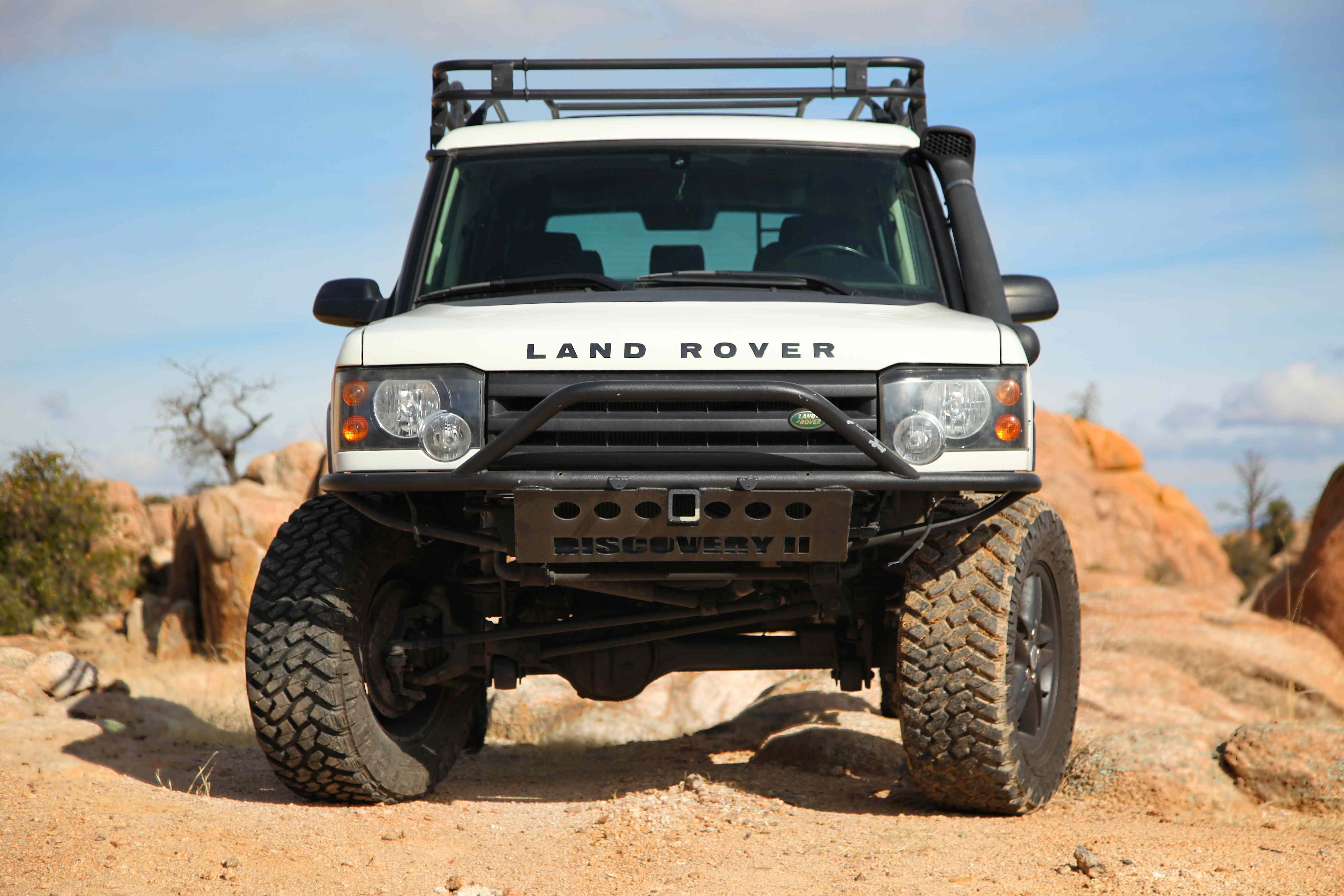 img grille kit itm land pc rover chrome steel discovery landrover bumper cover stainless for front