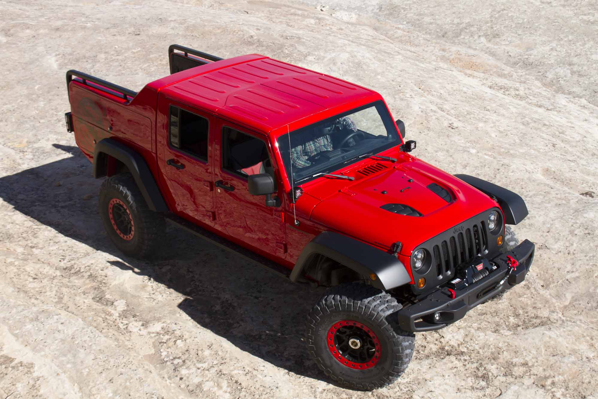 Jeep presents this year s concept trucks at the Easter Jeep Safari