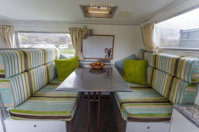 Unimog Living Area
