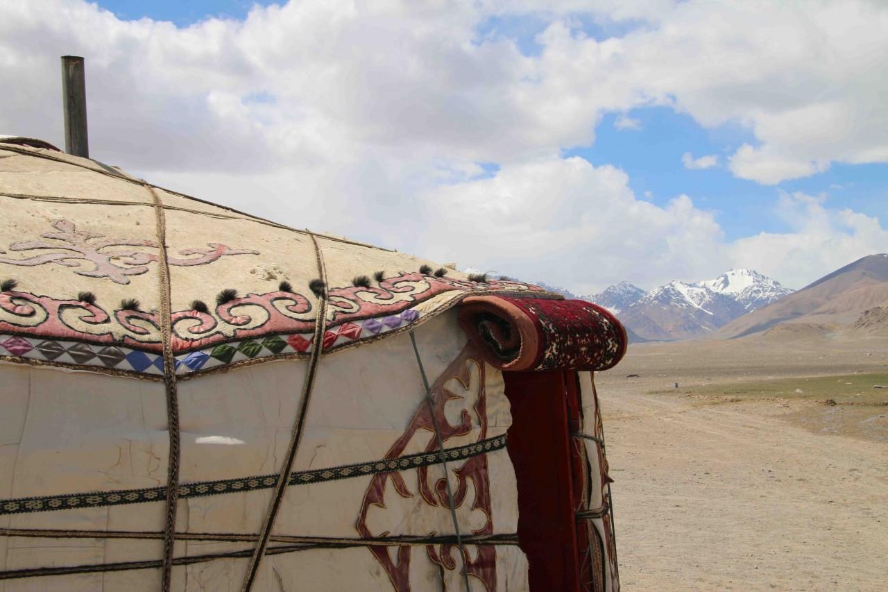 A kyrgyz yurt