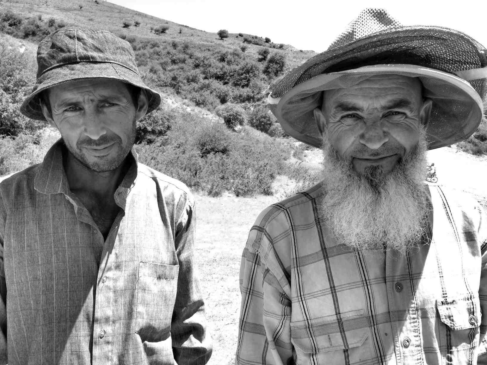 Tajik bee keepers