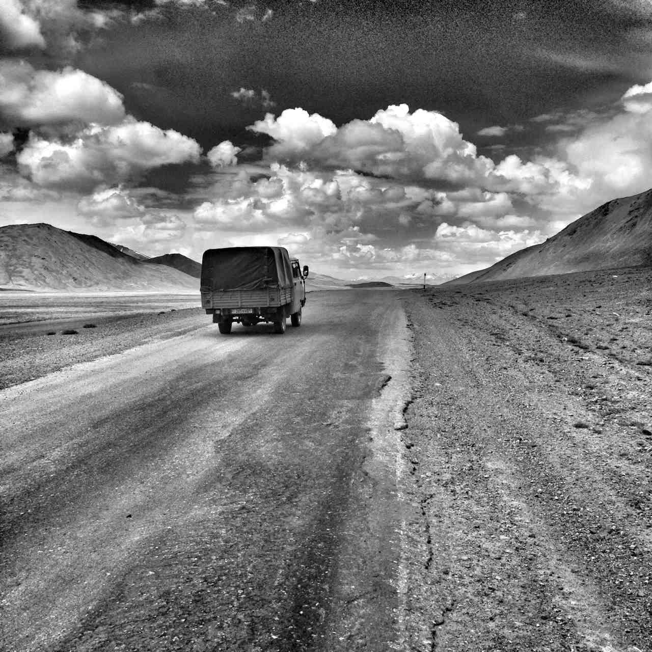 The road to Alichur