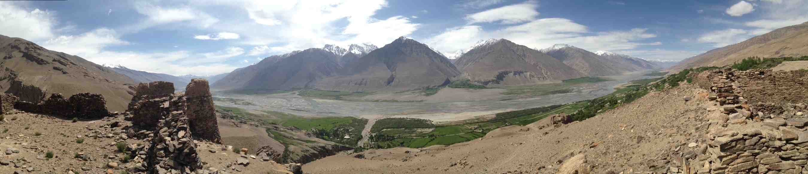 Wakhan panorama