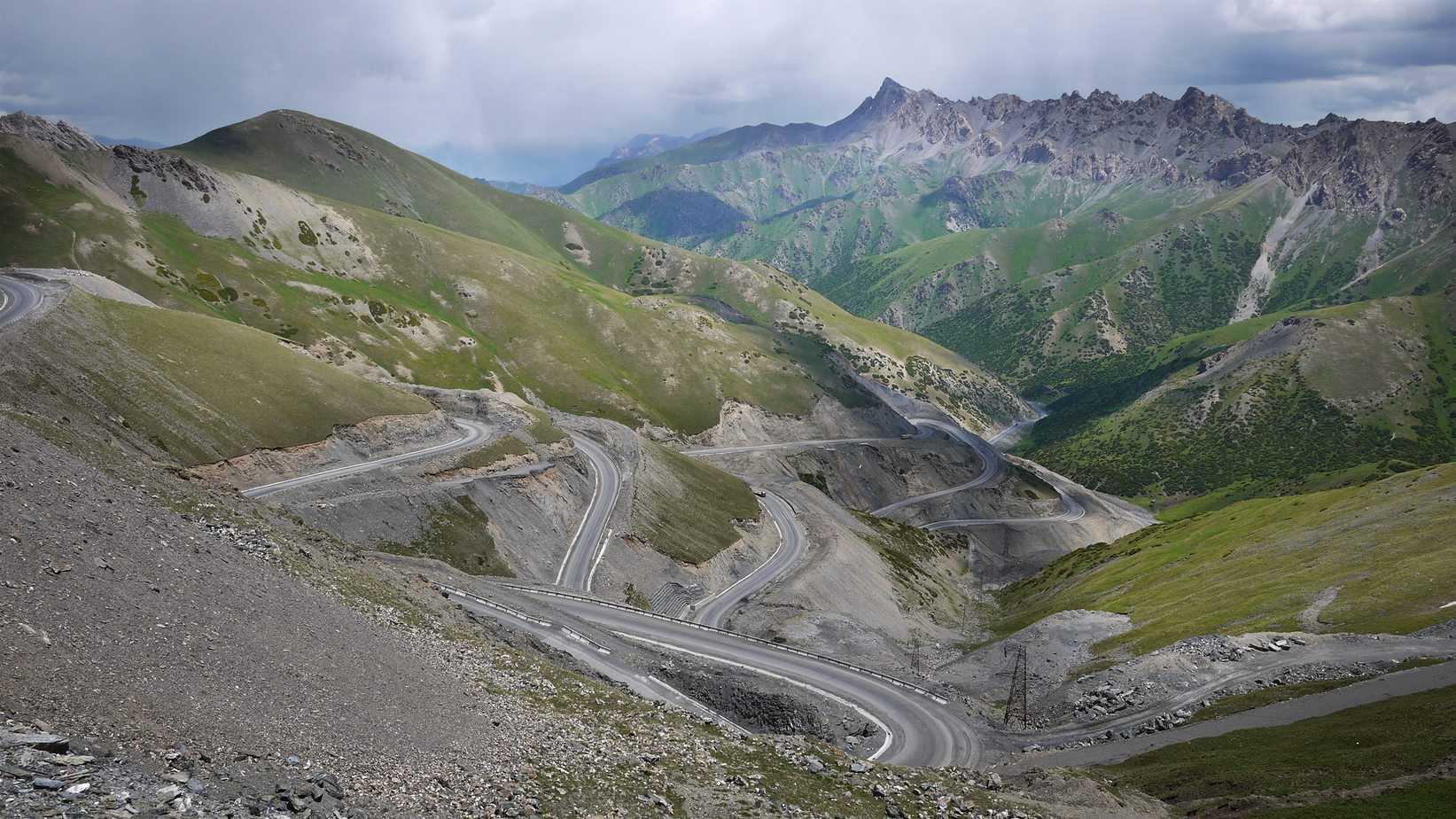 The Taldyk Pass