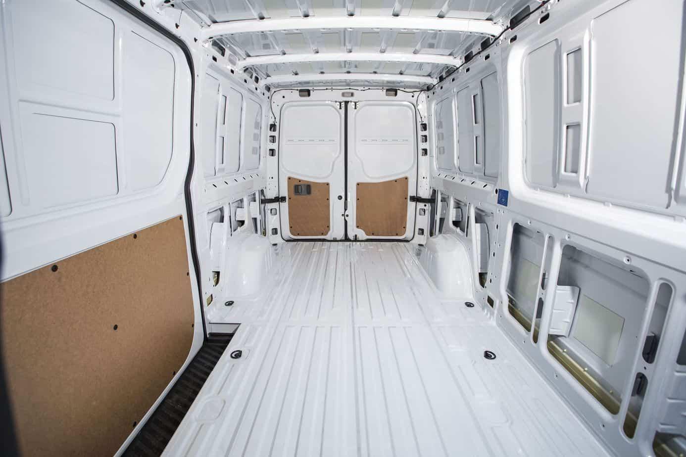 Mercedes benz announces new sprinter worker van for Mercedes benz van interior