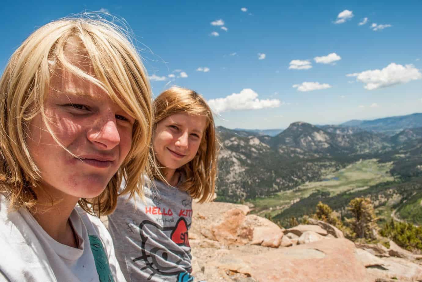Keelan and Jessica, Rocky Mountain NP