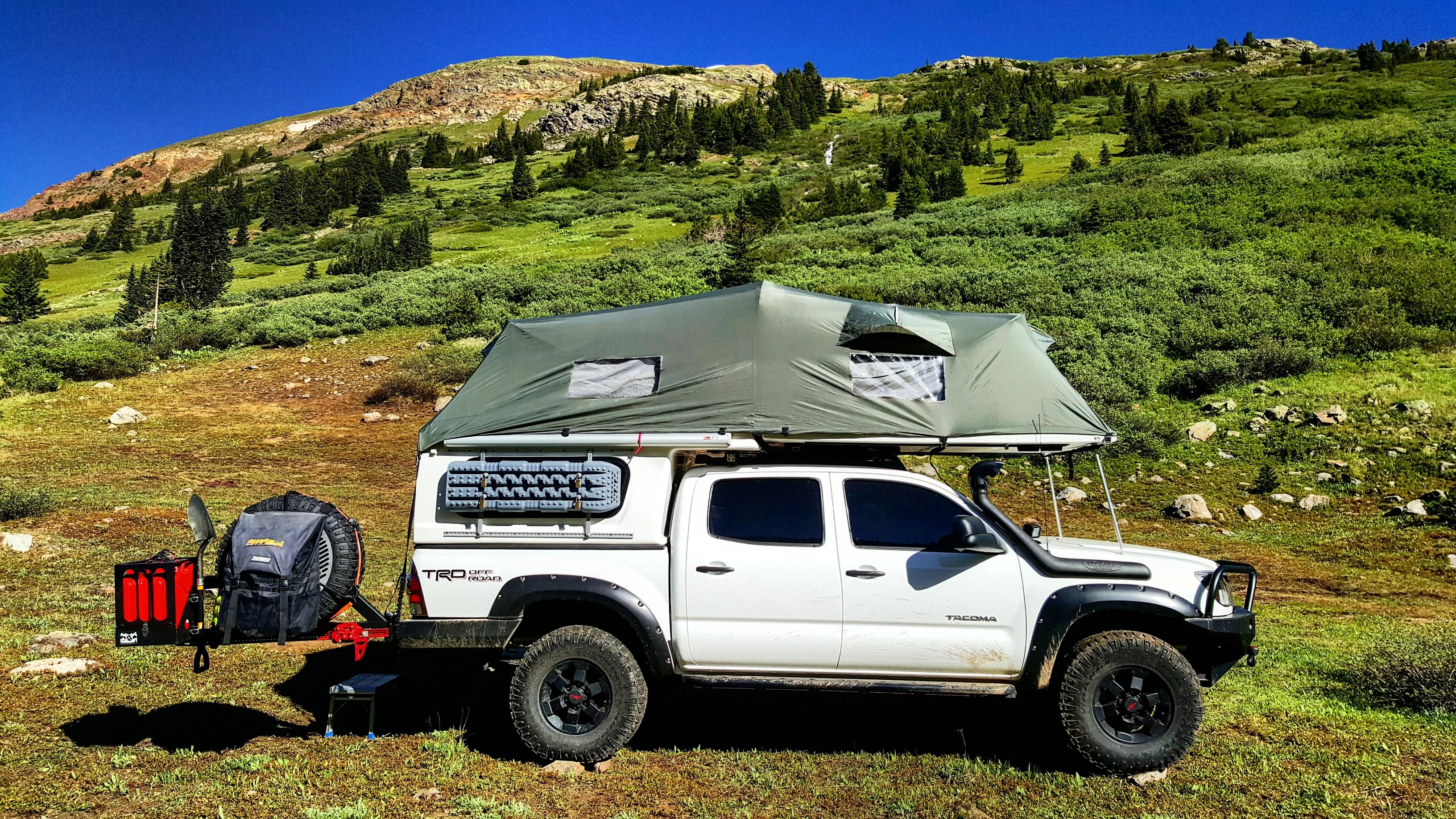 Featured Vehicle Jon Burtt S Toyota Tacoma Expedition