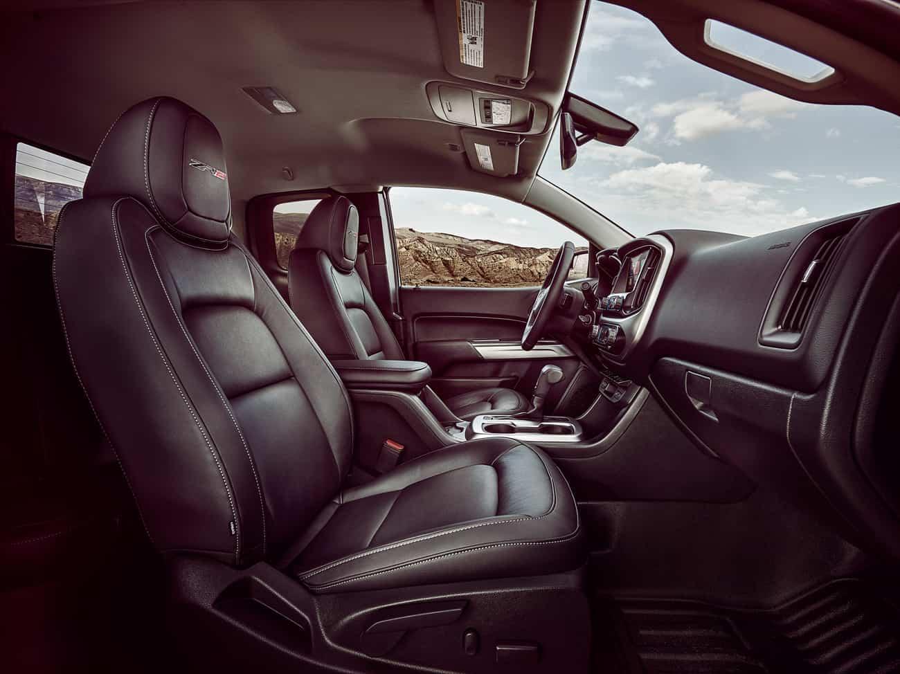 2017 Chevrolet Colorado ZR2 – interior