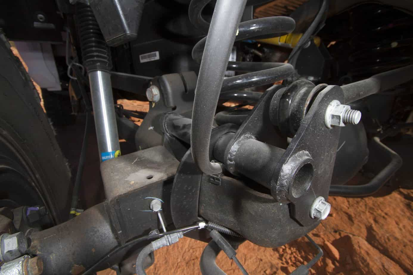 aev ram 2500 vehicle featured kit geometry steer suspension front expeditionportal