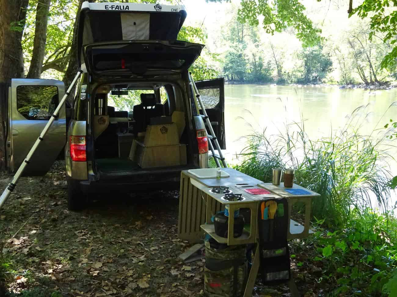 Camped along the French Broad River-FifthElementCamping.com (Copy)