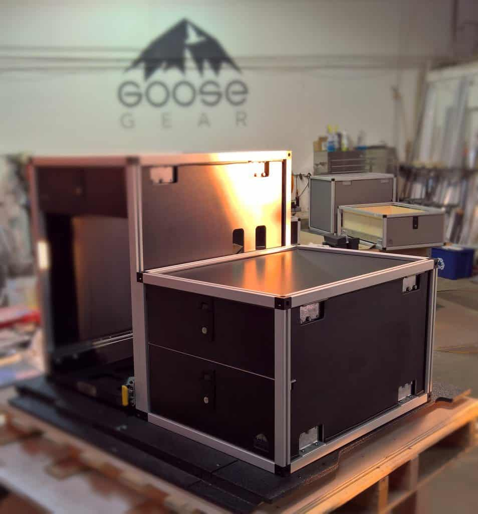 GooseGear drawer only closed