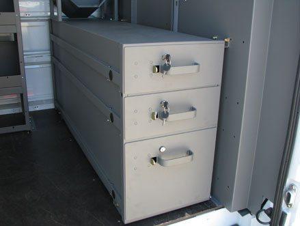 KargoMaster 3 drawer in vehicle