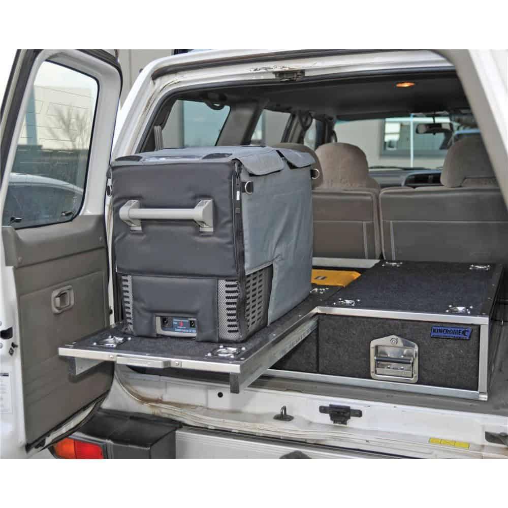 Kincrome drawer in vehicle
