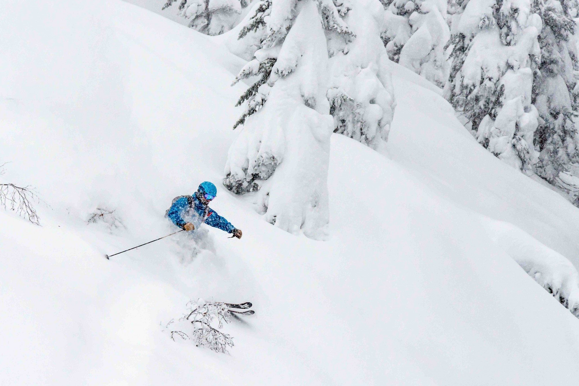 dave skiing near revelstoke Photo Ian Stotesbury