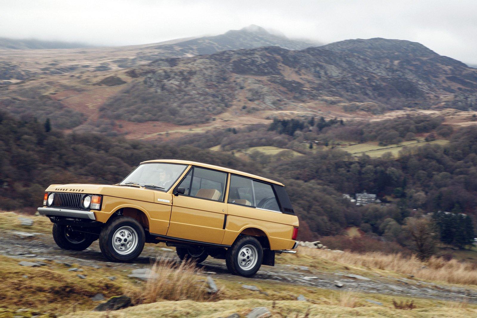 Land Rover To Release Brand New 1978 3 Door Range Rover