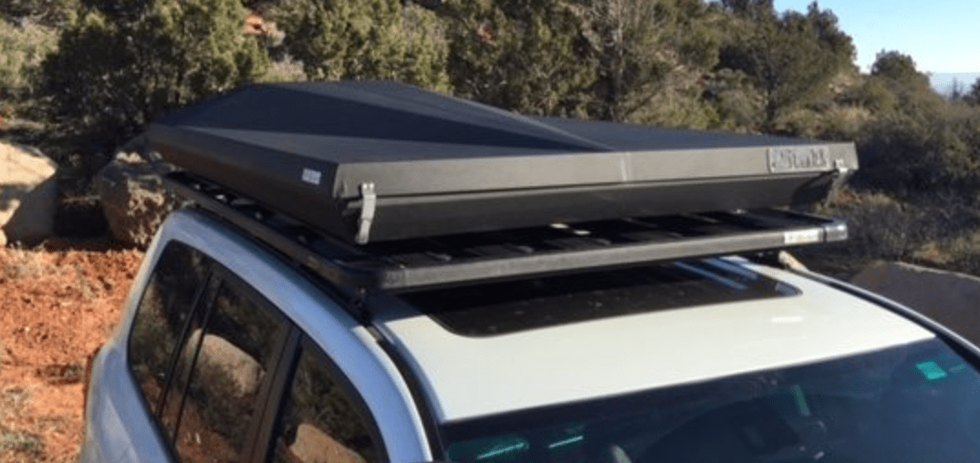 The gas-strut assist opening takes minimal effort and the ladder slides out of its own dedicated slot in the lower section of the tent base. & Buyeru0027s Guide: Hard Shell Roof Top Tents u2013 Expedition Portal