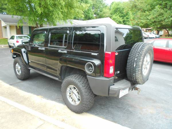 2007 hummer h3 adventure for sale locker 4 1 low range. Black Bedroom Furniture Sets. Home Design Ideas