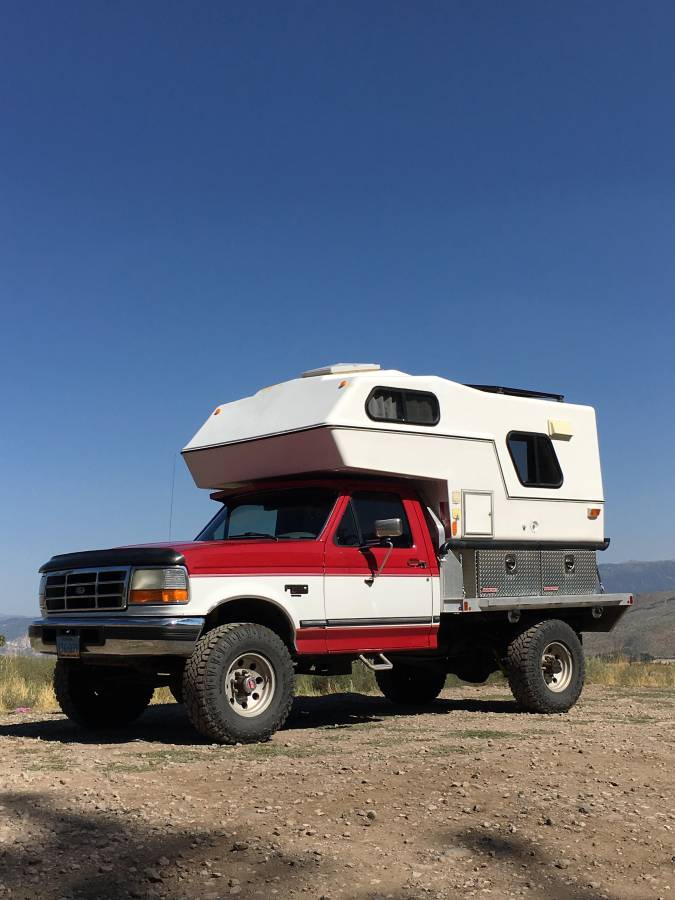 1994 Ford F-250 4x4 7 3L with Northern Lite Camper, Reno, NV