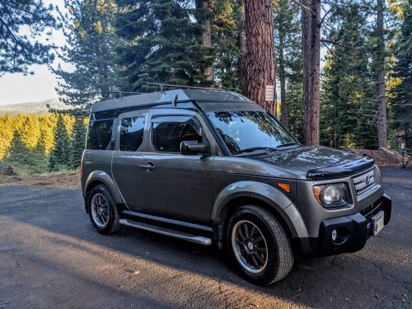 2007 Honda Element Awd With Ecamper Rare Roof Tent