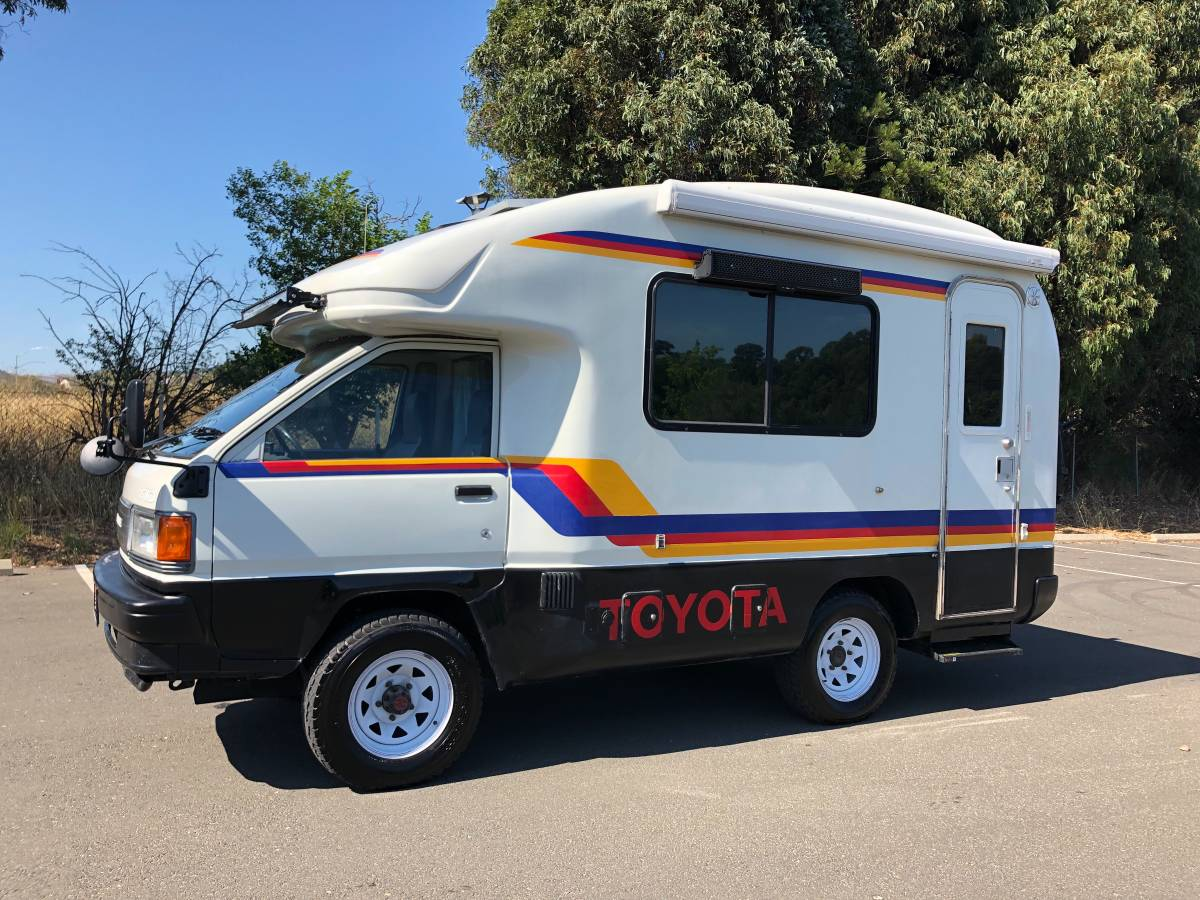 1993 Toyota Townace 4wd Camper Mint Expedition Portal