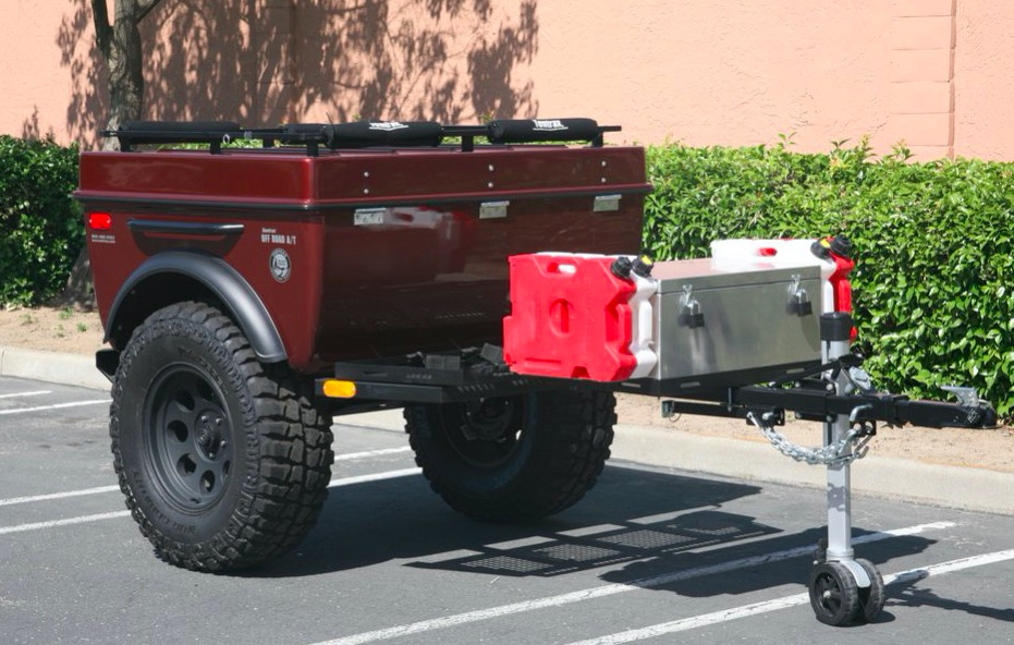 Off Road Trailers For Sale Used >> Sold 2010 Tentrax Off Road Camp Trailer Every Option Expedition