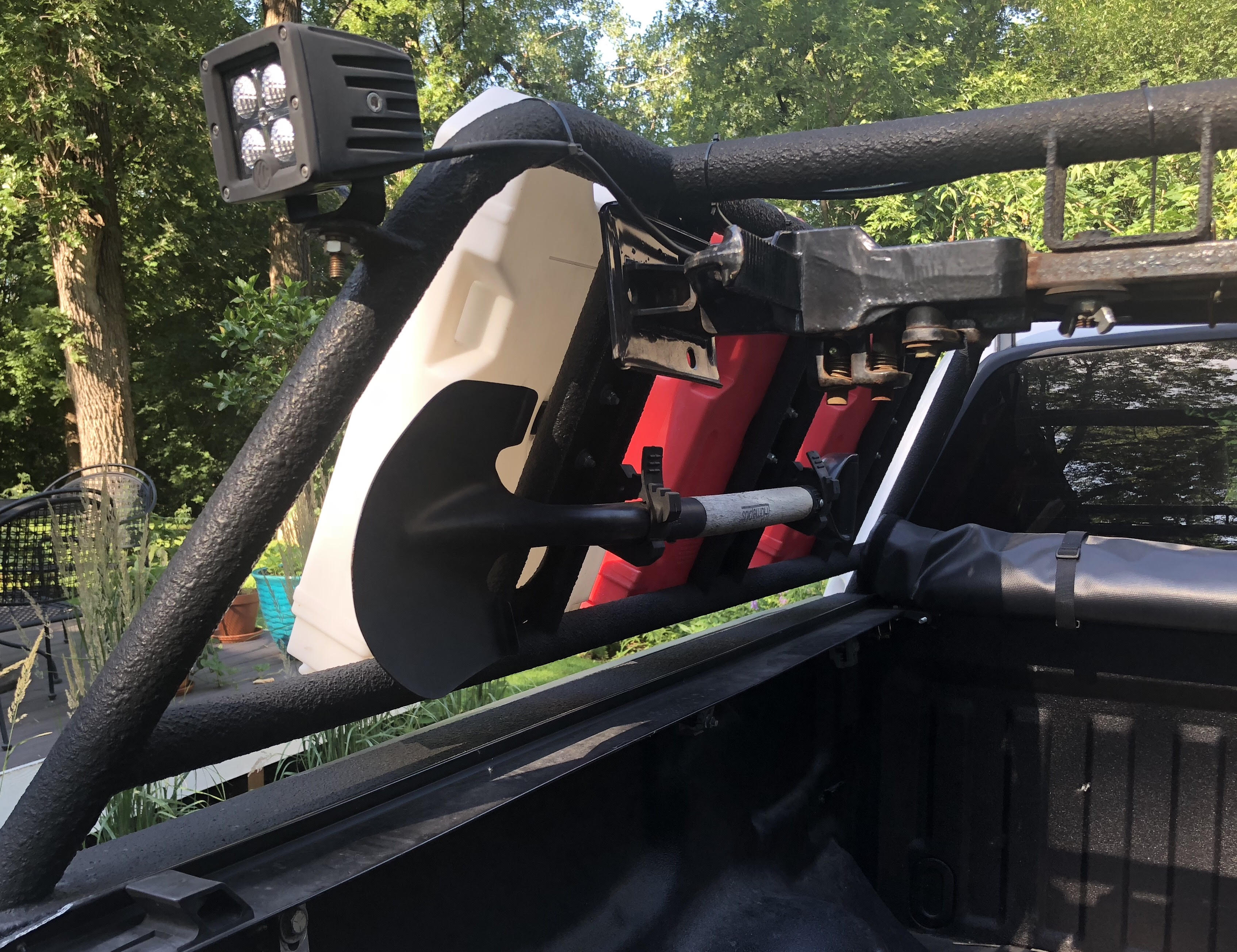 F150 Custom Made Bed Rack For Rooftop Tent Expedition Portal