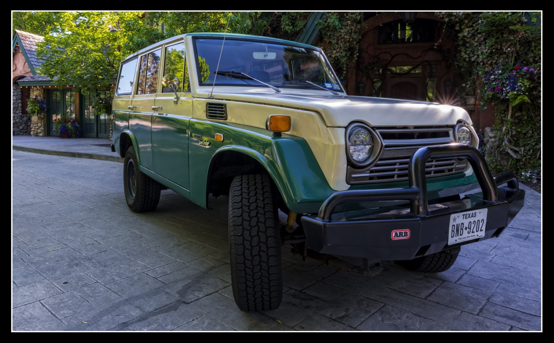 Now On Ebay V8 Powered 1973 Toyota Fj55 Land Cruiser With A Low Front Differ