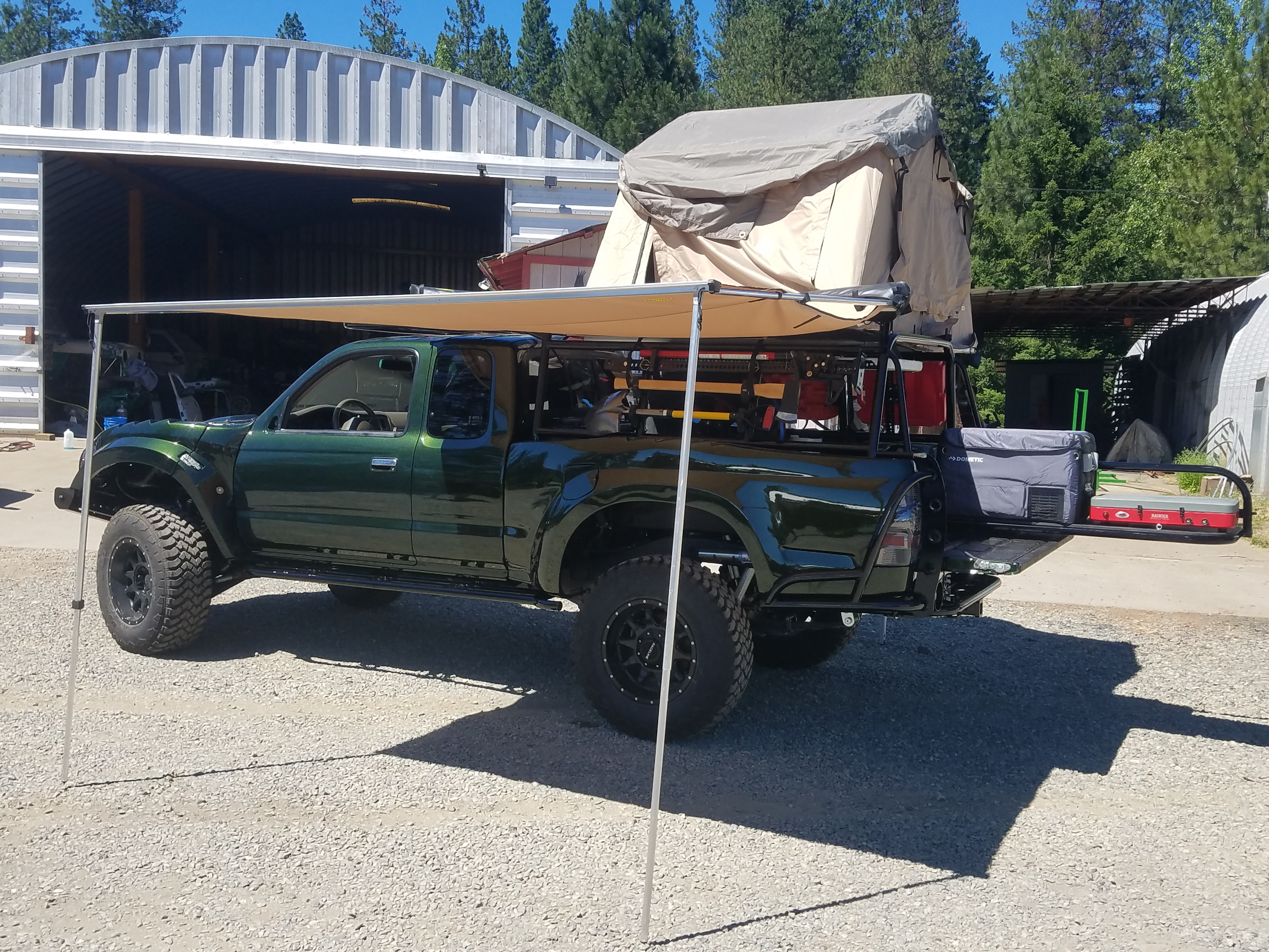 One of a kind tacoma long travel overland build   Expedition
