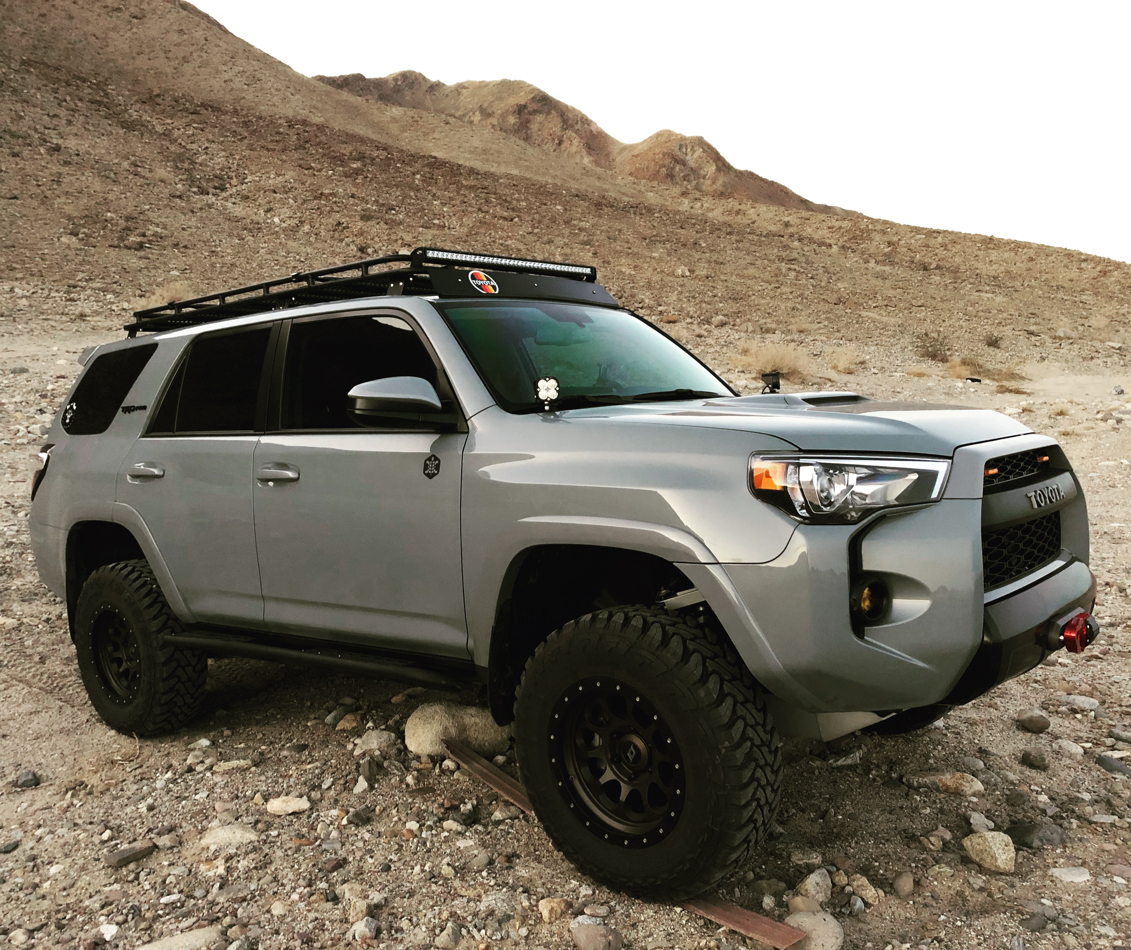 2017 Toyota 4runner Trd Pro Cement Grey Expedition Portal