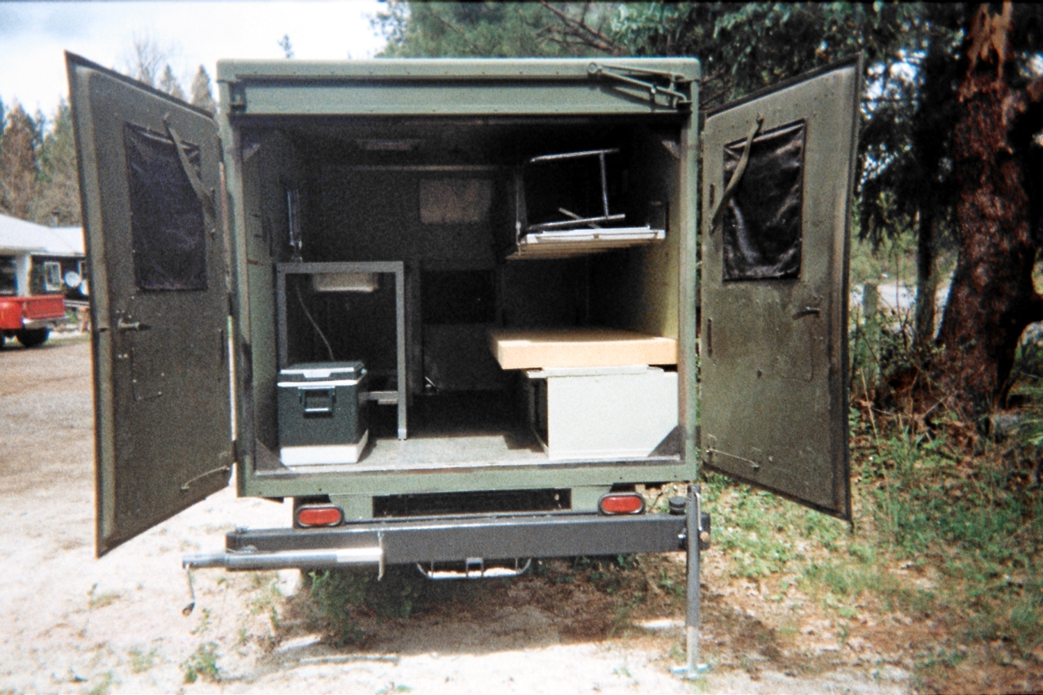 M1010 Serious Off Road Ambulance Camper Trailer For Sale