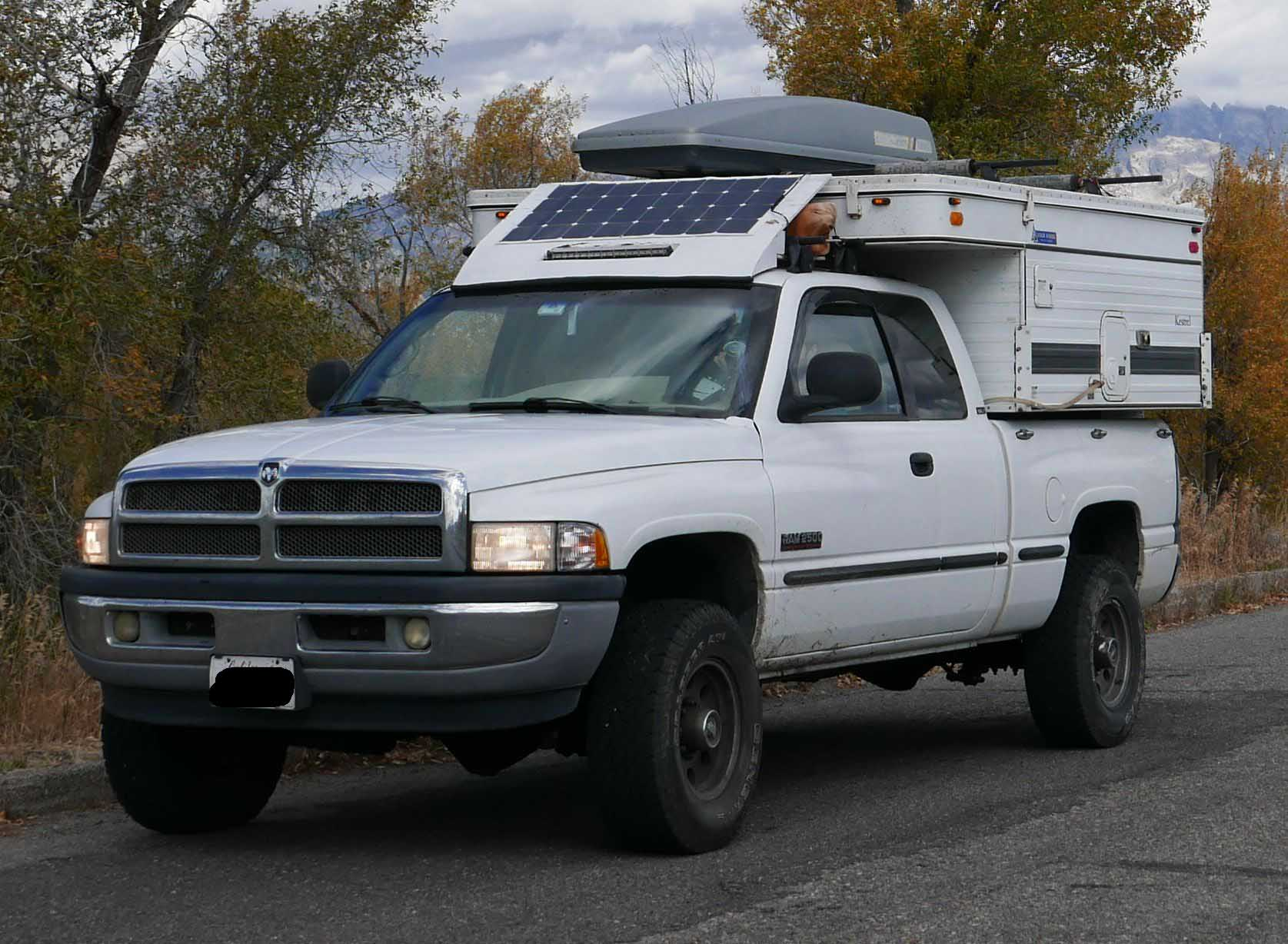 Sold 1999 2nd Gen Dodge Ram 24v Cummins With Loaded 2006 Fourwheel Camper Expedition Portal