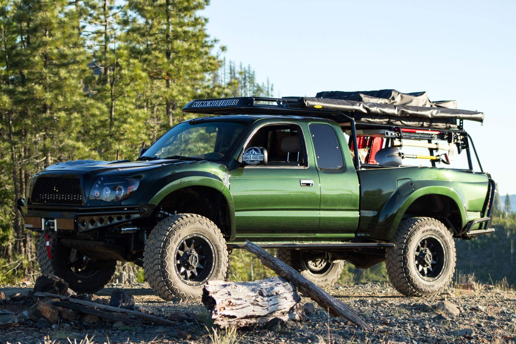 One Of A Kind Tacoma Long Travel Overland Build Expedition Portal