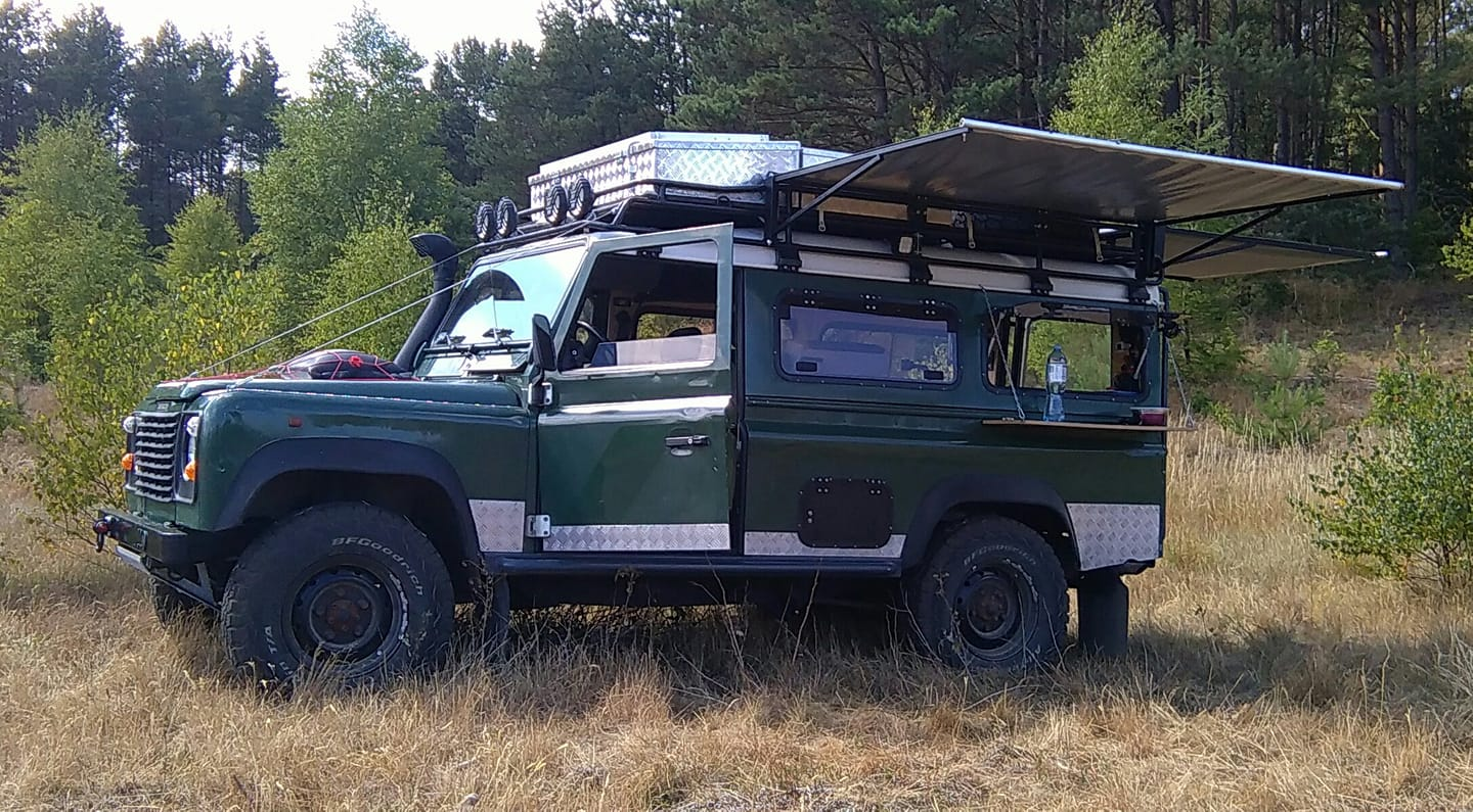 Expedition Land Rover Defender 1995r For Sale 15900