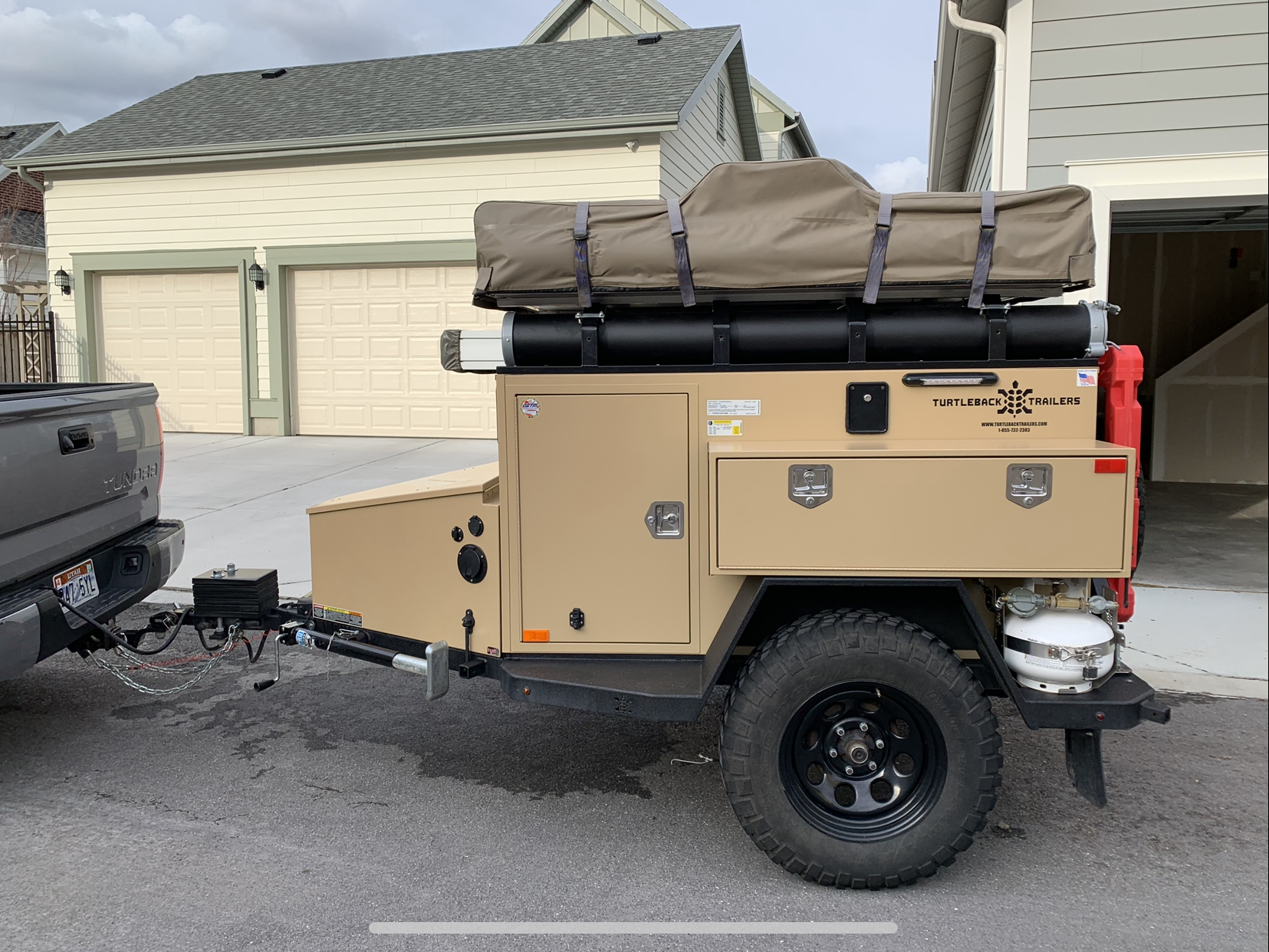 2016 Turtleback Expedition Trailer For Sale | Expedition Portal