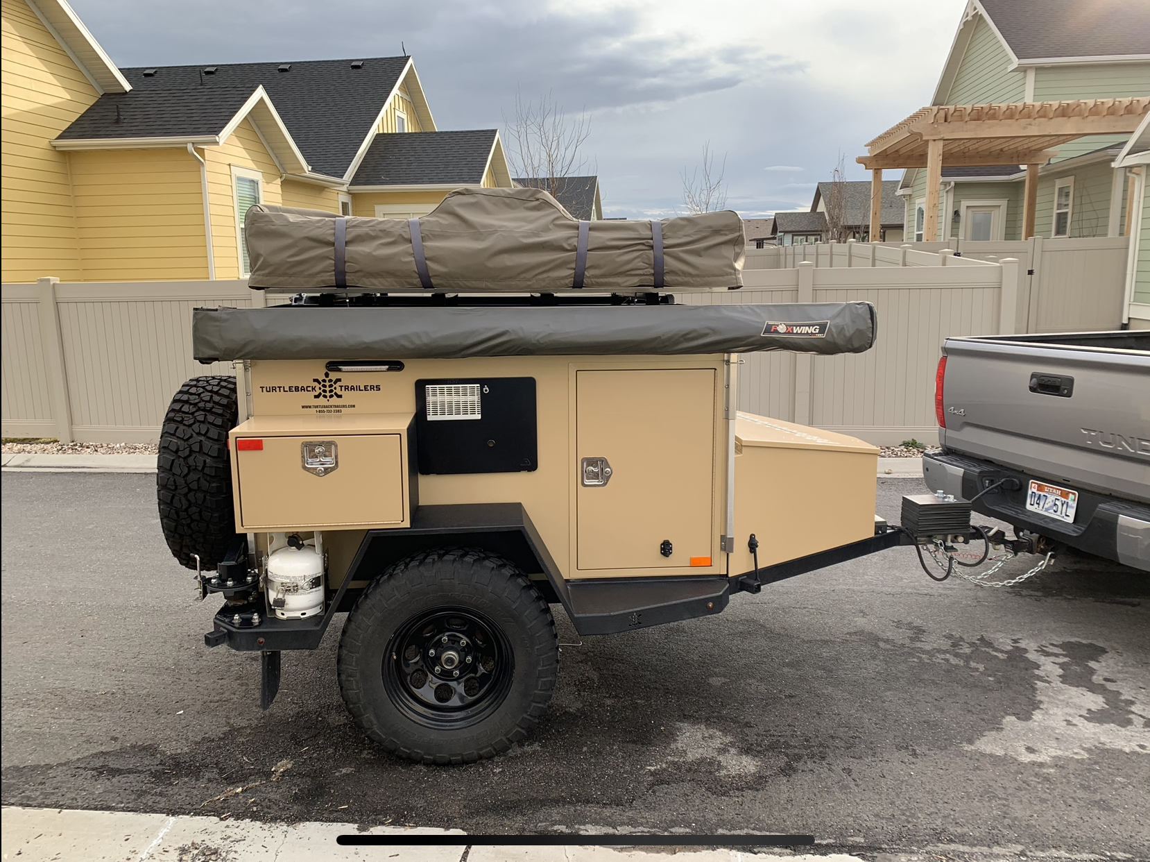 2016 Turtleback Expedition Trailer For Sale   Expedition Portal