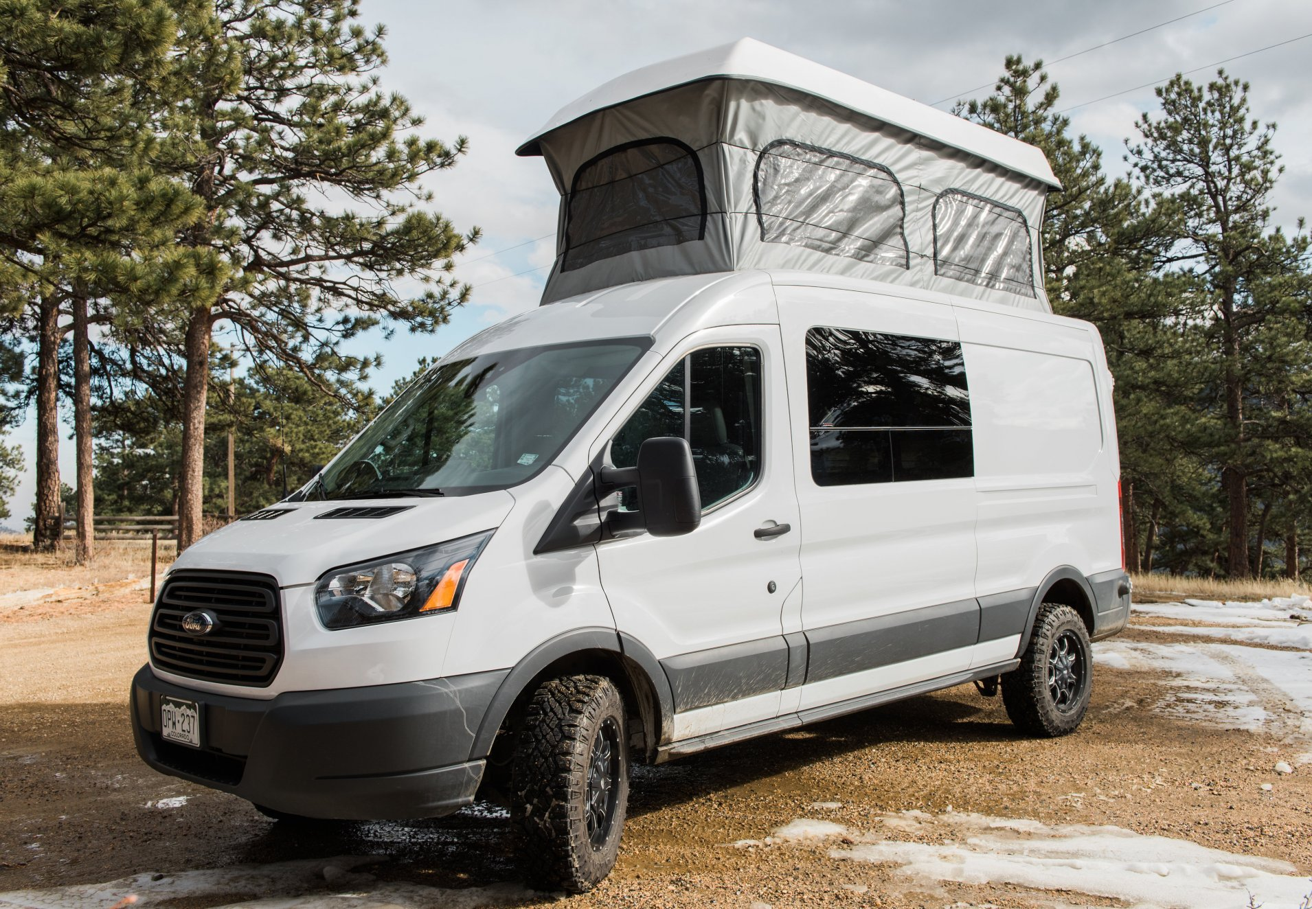 2017 Ford Transit Pop Top Diesel Lifted FOR SALE