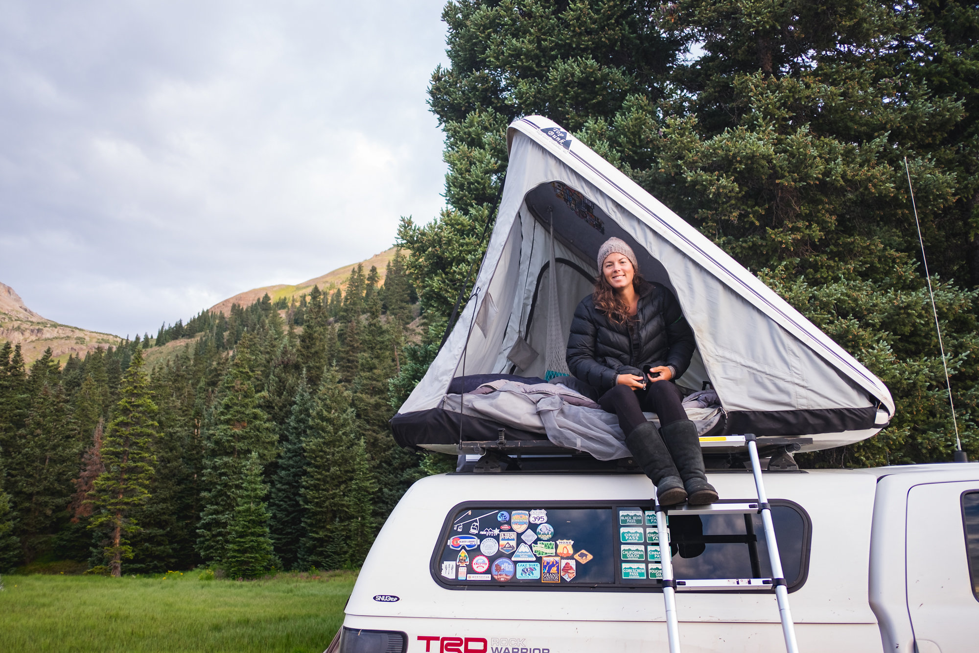 Colorado2018_OurOverlandLife-460.jpg & Hard Shell RTT Top Bunk By High Gear Tents of MO in great shape ...