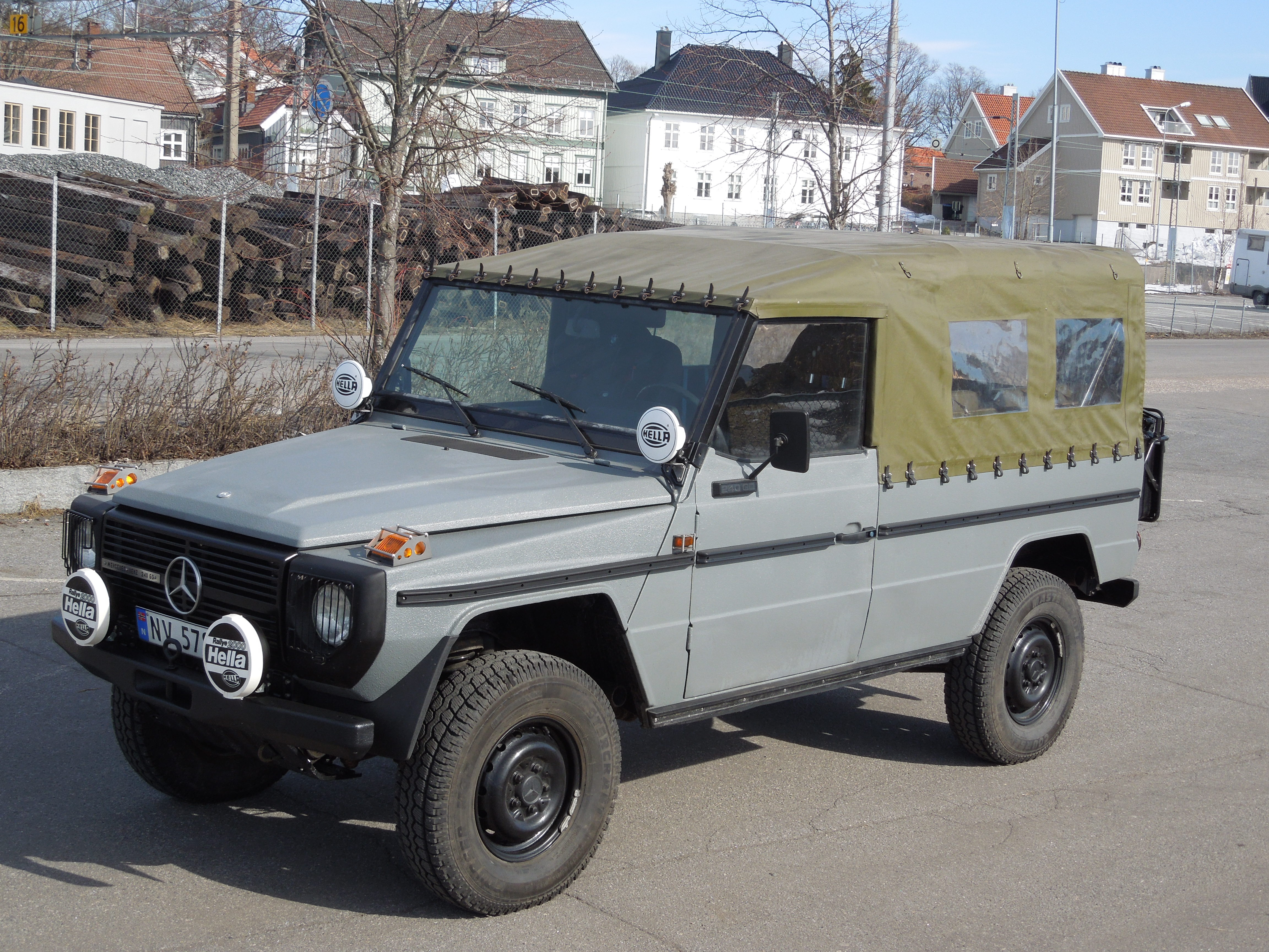 1984 Mercedes 240GD for sale | Expedition Portal