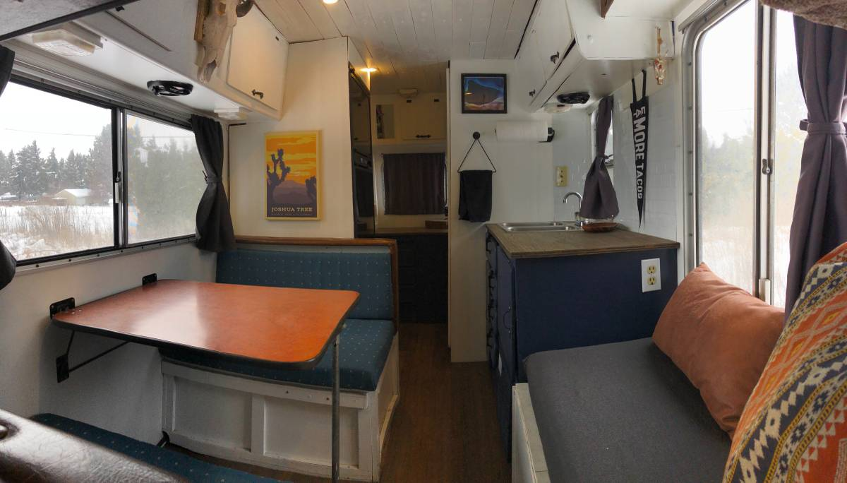 So Bad, it's good, cool Mobile Traveler RV: 1980 Chevy