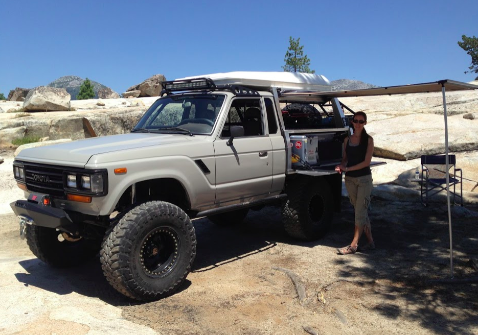 Diesel FJ62 Land Cruiser to Aussie Ute Flatbed Conversion