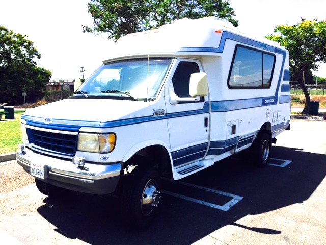 1996 Ford Chinook 4x4 21' RV For Sale in San Diego | Expedition Portal