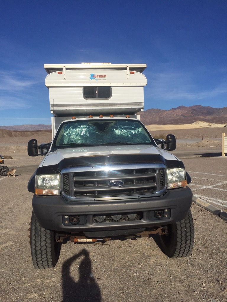 Custom 2001 Ford F550 4x4 diesel Expedition Camper for sale