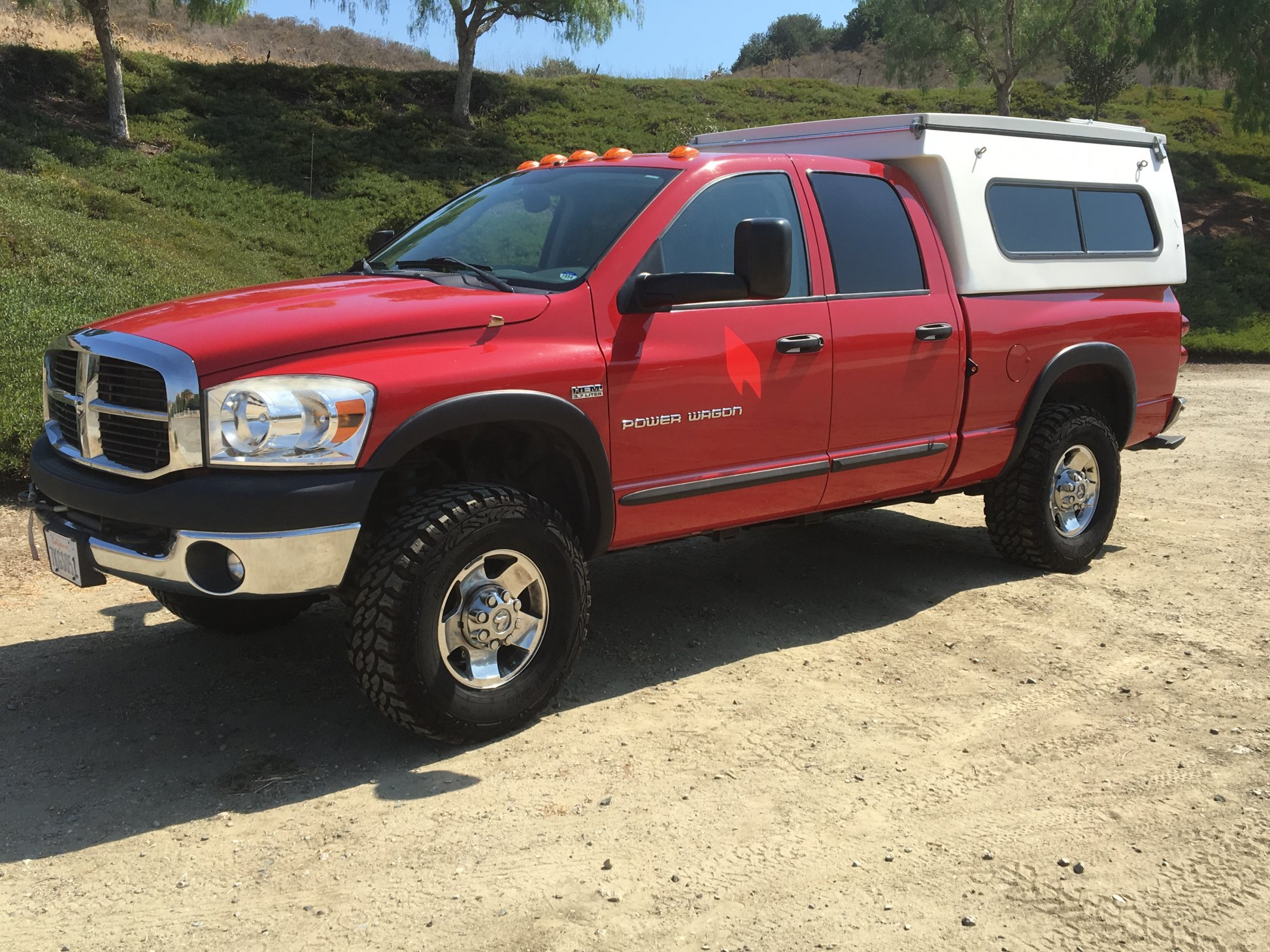 2008 Dodge Power Wagon FLIP PAC Camper FOR SALE $23 000
