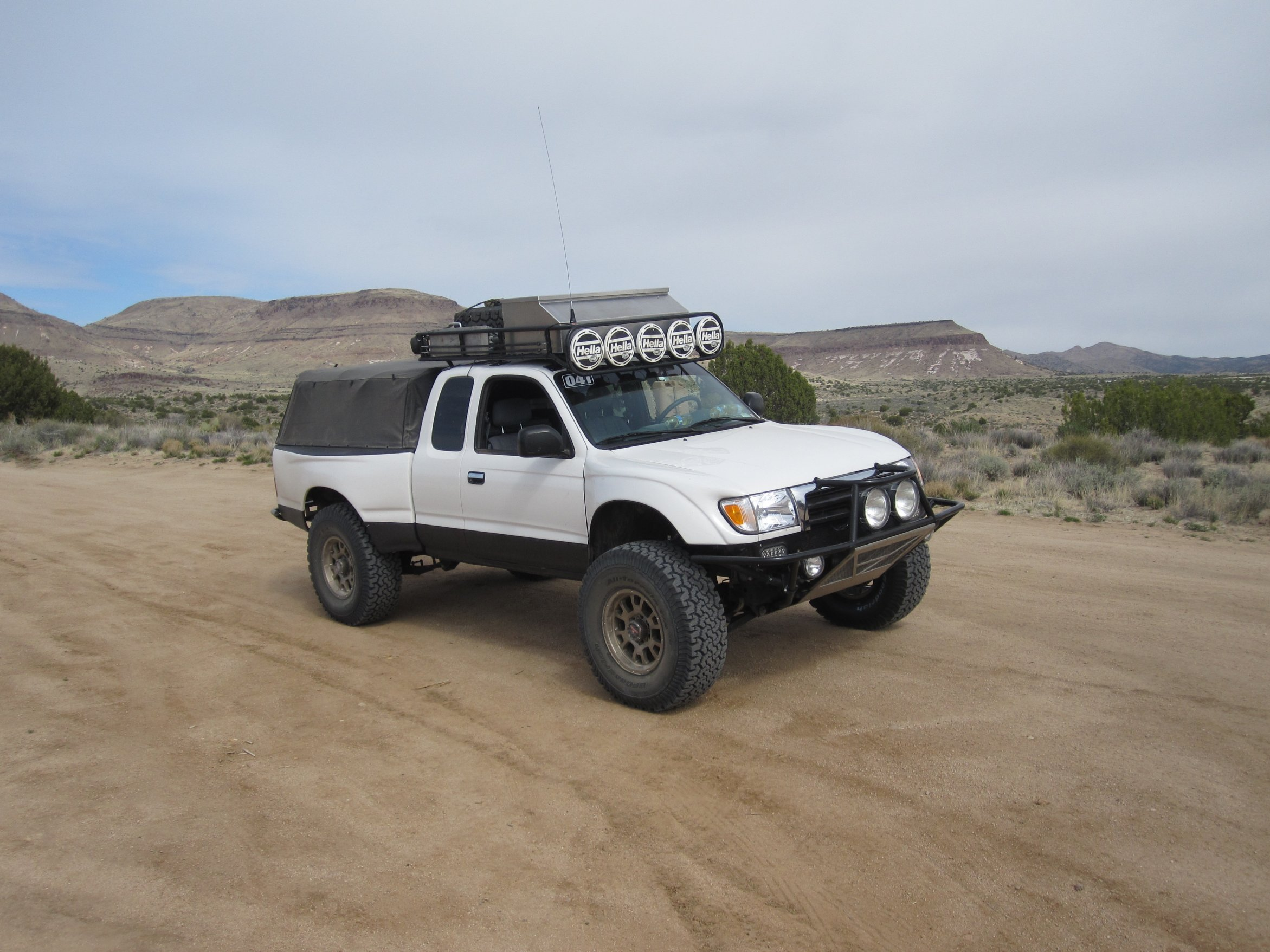 95 2004 Custom Tacoma Roof Rack Socal Expedition Portal