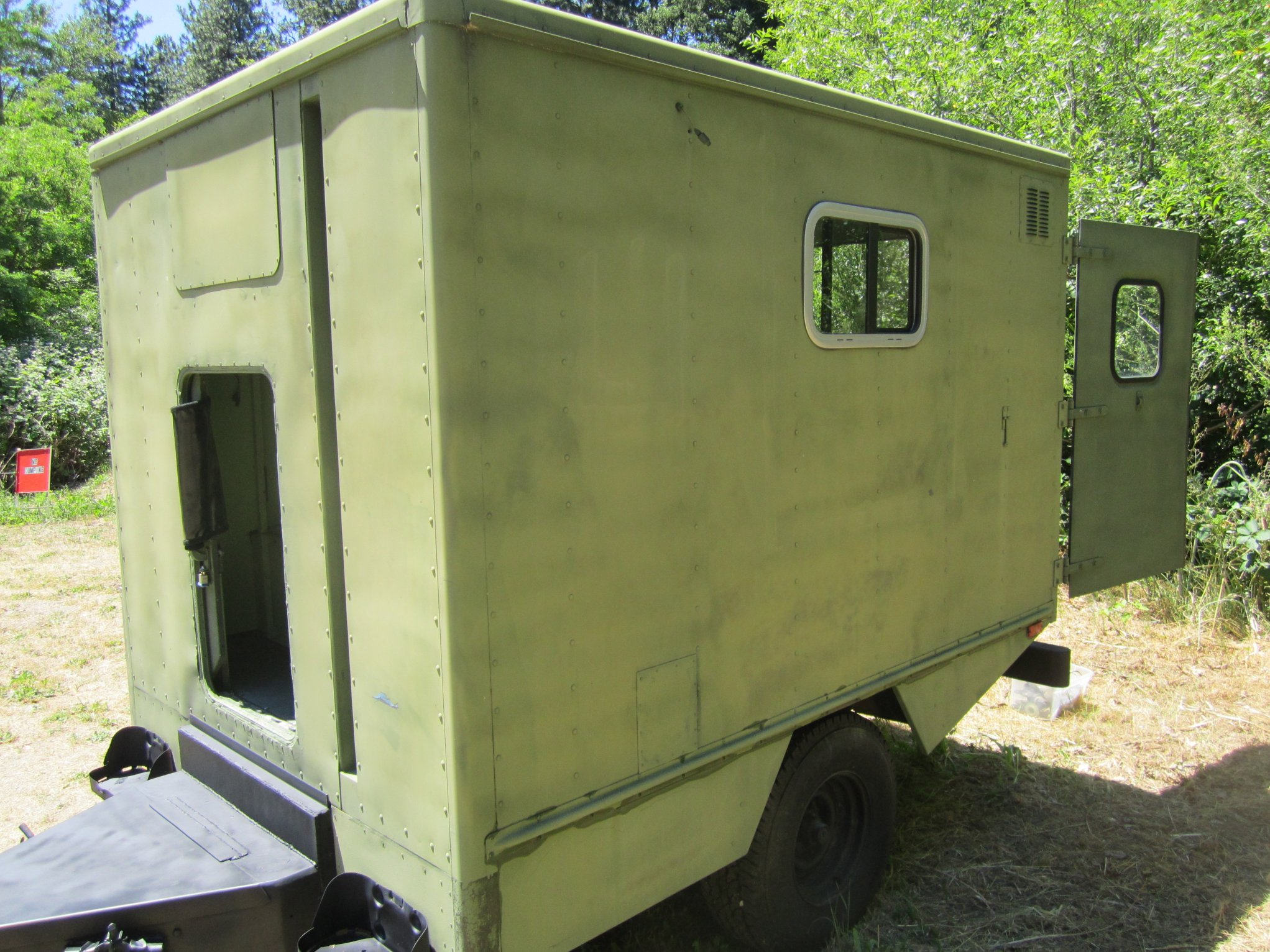 Wonderful Perfect For Hunting,camping Or Even To Use For Bringing Stuff To Cabin New Trailer Built Last Summer And Only Used Twice Trailer Built To Accommodate A Twin